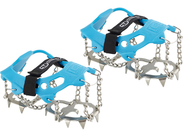 Climbing Technology Ice Traction Crampones Plus L, blue